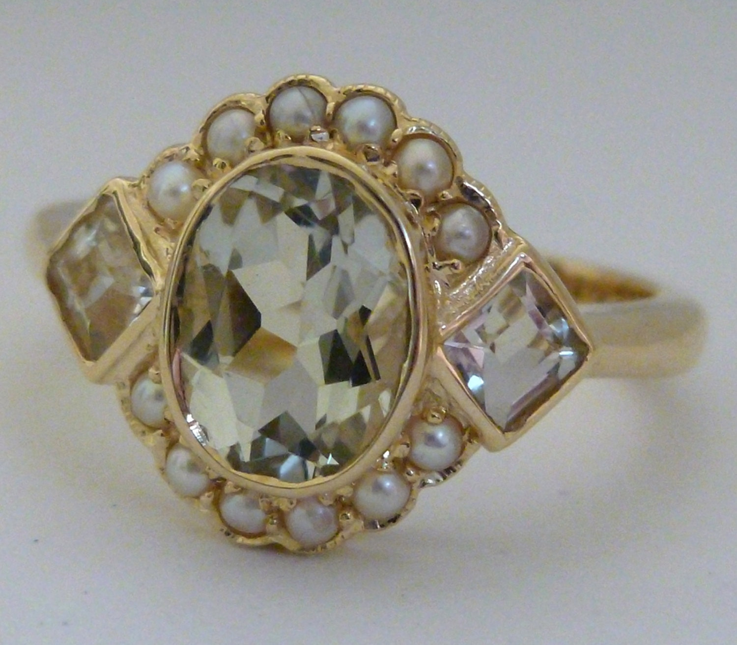 amethyst ring vintage - photo #6