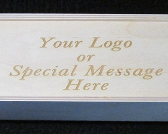 Wedding Gift-Wood Box- Unfinished Wood Box-Wine Gift Box or Personalized Wooden Box with Sliding Lid