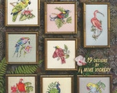 Cross Stitch Collection Mike Vickery Birds 19 Designs ASN