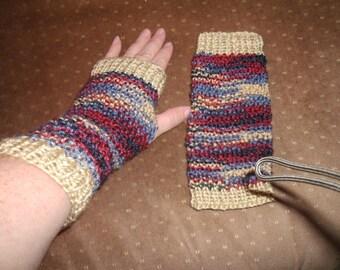 Fingerless Wristlet Gloves