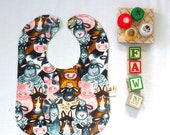Farm Animals Baby Bib
