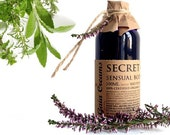 Secret Garden Sensual Body and Soul Oil Truly Organic, Vegan and Ethical 100ml Freshly Made to Order
