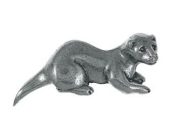 Otter Lapel Pin - CC562- Aquatic, Marine, Wildlife, and Zoo Pins