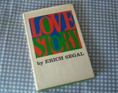 "Vintage Novel, "" Love Story "" by Eric Segal, Hardback Book With Cover, Made Into A 1970's Romantic Movie, Collectable, Gift Item"