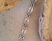Old Mexico Sterling Silver Large Chain Bracelet