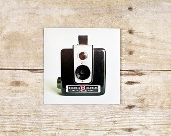 camera refrigerator magnet, still life photography, home decor, photo magnet, vintage, photography, magnets