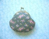 SHOP CLOSING SALE Mini Rose Coin Purse - Bridesmaid Gift, Birthday gift, Holiday Gift