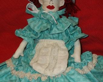 Prairie girl doll, Pioneer doll, Plains doll, old fashioned doll,