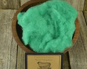 Needle Felting  Wool - Spring Green - Felting Wool