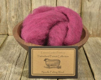 Timberland Forest Collection - Sweet William - Needle Felting Wool -Wet Felting Wool