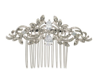 Hot Sale Hair Combs Flower Hairpins Crystals Hair Jewelry Bridal Wedding Hair Accessories 4012R