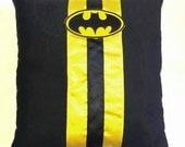 Batman Wedding Ring Pillow - ( 6x6 inch pillow )