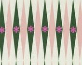Backgammonish Green Natural - Playful - Melody Miller - Cotton + Steel - 1 Yard