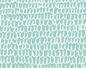 Shrubbery in Turquoise - Yoyogi Park - Skinny laMinx - Cloud 9 Fabrics - 1 Yard