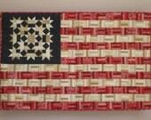 PDF Quilt Pattern -- Digital Pattern for Flag #2 wall quilt (pdf)
