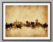 Cincinnati Skyline, Cincinnati Ohio Cityscape (1789)