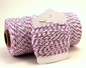 Light Purple Twine - Lavender Twine - Easter Gift Wrap - Rustic Wedding Twine - Plum Divine Twine - Pastel Colored String - Violet Twine
