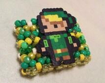 Legend of Zelda Link Kandi Cuff - Rave - Festival - Ready to ship