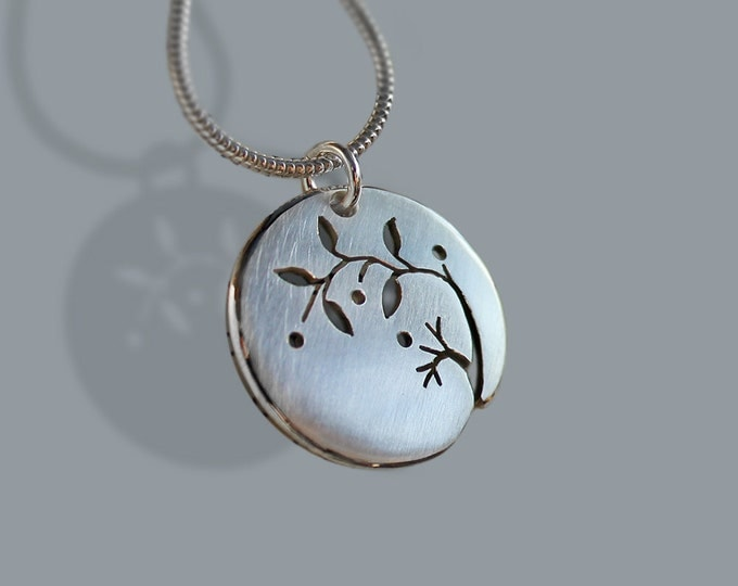 Silver Jewelry, Silver Jewellery, Silver Pendant, Spring.