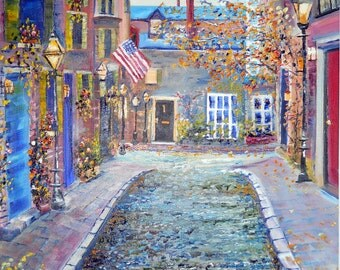 Custom Oil Paintings, Original Oil Paintings, Commissioned Home Portraits, Cities, Oceans, Landscapes, Pacific Northwest Artist, Dan Leasure