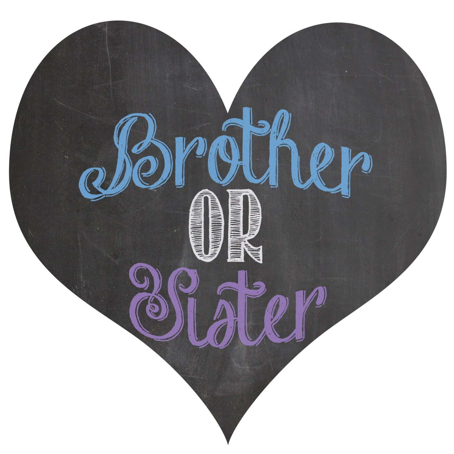 Brother sister sign-5509