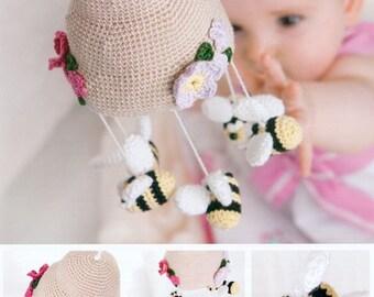 Bumble Bee Mobile Crochet Pattern