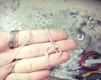 ETHNIA handmade sterling silver necklace