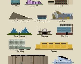 Edmonton Modern Buildings (1951-2010)
