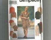 Simplicity pattern 7519 Misses Pants Jacket Shorts Size 18 20 22