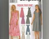 Simplicity 9559 Misses Dress Size 14, 16, 18, 20