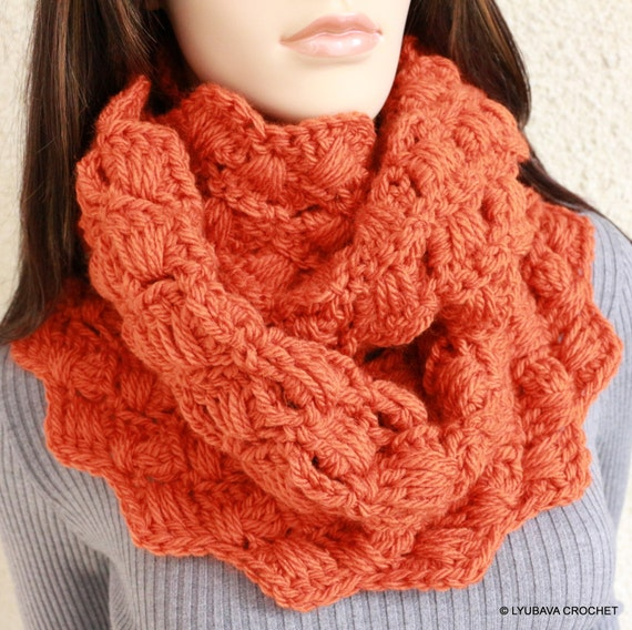 Crochet Infinity Scarf Chunky Pattern : CROCHET PATTERN Infinity Scarf Chunky Crochet by ...