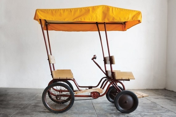 1950s Gym Dandy Surrey Pedal Car