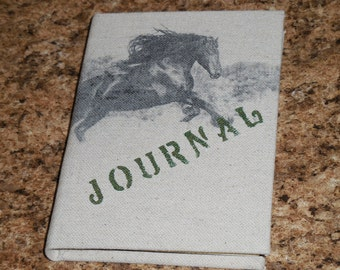 Wild Horse Canvas Journal - Blank