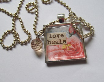 Inspirational Quotes Necklace