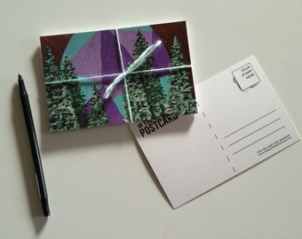 Painted Forest Postcard Set of Ten