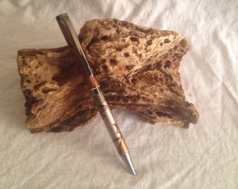 Gun Metal Slimline Pen, Aluminum Arrow Barrel, Camo Barrel, Hunters, Artchery