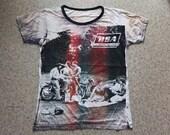 Motorcycle Rock Ringer T-shirt M