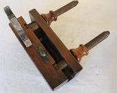 Exquisite Antique French Carpenters Plow plane,Elantz F Paris circa 1910, Antique tool