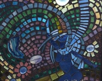 Shakti Glass On Glass Mosaic
