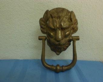19th Cen. Lion Door Knocker / Stunning