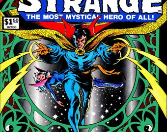 Marvel Dr.Strange #6 Treasury Edition Stand-Up Display