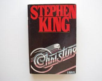 Christine - Stephen King - Book Club Edition - 1983