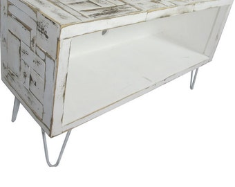 "Media console, TV Stand,  ( Boho Collection) 46""L shown"