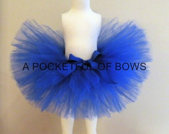 Royal Blue Tutu Skirt, Toddler Tutus, Girls Tutu Skirt