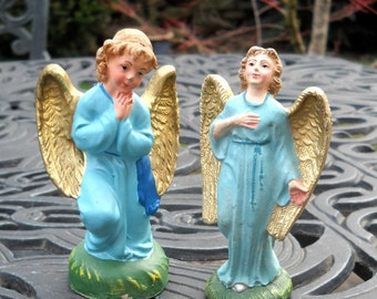 Vintage Angels, Composition Nativity Angels