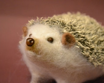Albino hedgehog..  I will make this item for your order