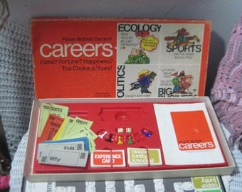 1971 Career  Board Game