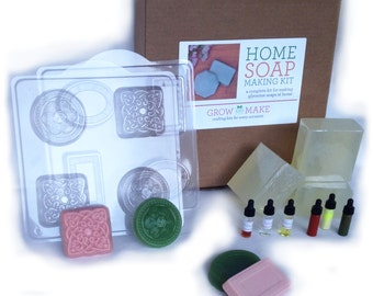 DIY Deluxe Glycerine Soap Kit