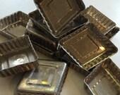 12 Vintage Aluminum Mini Tartlet Cake Pans 2974