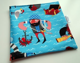 Reusable Snack & Sandwich Bag -- Pirates Eco-Friendly